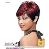 It's a wig Synthetic Simply Lace Front Wig - SIMPLY LACE CHERRY