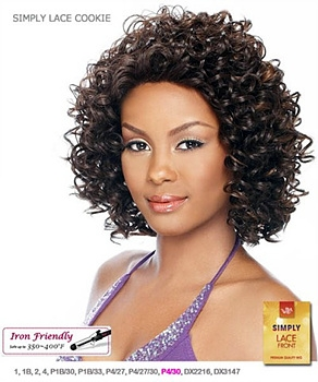 -It's a wig Synthetic Simply Lace Front Wig - SIMPLY LACE COOKIE