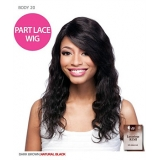 It's a wig Brazillian Hair Part Lace Front Wig - HH BODY WAVE 20