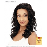 It's a wig Synthetic Simply Lace Front Wig - SIMPLY LACE MACY