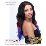It's a wig Futura Synthetic Rainbow pop Lace Front Wig - PACIFIC