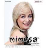 Mimosa Futura Synthetic Full Wig - LAVENDER