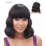 Its a Wig Human Hair Wig Swirls & Curls JULIA