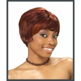 It's a Cap Weave Human Hair Wig Short & Sassy TARA-1