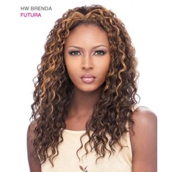 Its a Wig Synthetic Hair Half Wig BRENDA FUTURA