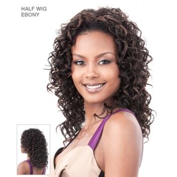 Its a Wig Synthetic Hair Half Wig EBONY