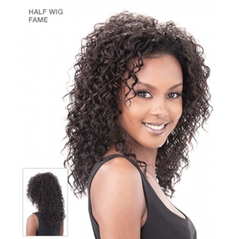 Its a Wig Synthetic Hair Half Wig FAME