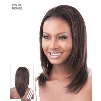 Its a Wig Human Hair Half Wig RENEE