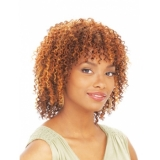 Its a Cap Weave Human Hair Wig HH WATER WAVE
