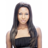 Its a Wig Synthetic Magic Lace Front Wig VERY LONG STRAIGHT