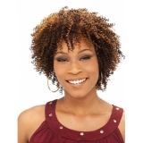 Its a Cap Weave Human Hair Wig HH AFRO CURL