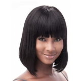 Its a Cap Weave Human Hair Wig European remi BOB