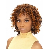 Its a Cap Weave Human Hair Wig HH DEEP WAVE