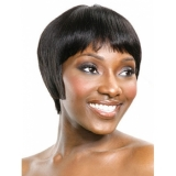 Its a Cap Weave Human Hair Wig HH JOY