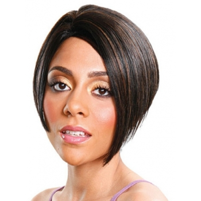 weave ponytail hairstyles with bangs : Its A Weave Cap Cynthia Photo Short Hairstyle 2013