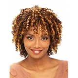 Its a Cap Weave Human Hair Wig HH STRAW CURL