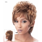 Its a Wig Synthetic Wig Short & Sassy TITI