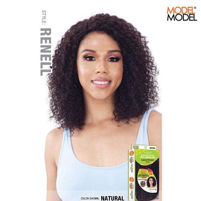 Model Model Nude Air Brazilian Natural Human Hair Wig - ANA
