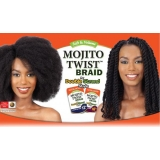 Model Model Mojito Twist for Double Strand Aka Cuban Twist or Havana Twist 12""