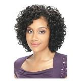 MODEL MODEL POSE PRE-CUT WEAVE - RED OPRAH CROWN 3PC Weaving Hair