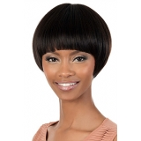 Motown Tress HUMAN HAIR WIG BLENDED - HB-APRIL