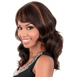 Motown Tress HUMAN HAIR WIG BLENDED - HB-AUGUST