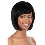 Motown Tress HUMAN HAIR WIG BLENDED - HB-JUNE