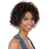 Motown Tress HUMAN HAIR WIG BLENDED - HB-MARCH