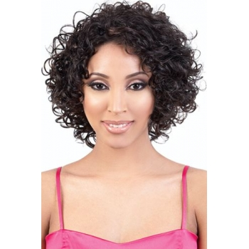 Motown Tress Synthetic 2 in 1 Half & Ponytail Wig TIO-120
