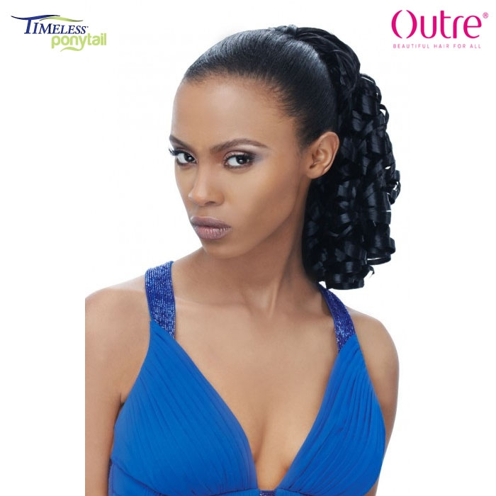 Outre Timeless Synthetic Drawstring Ponytail Dessa