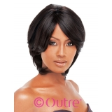 Outre Human Hair Premium Duby straight 001 weaving 8 inch