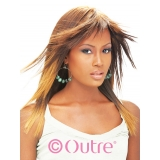 Outre Human Hair Premium New Yaki weaving 16 inch