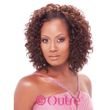 Outre Velvet Remi Human Hair Spanish Wave weaving 10 inch