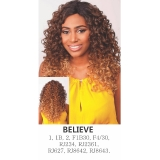 R&B Collection, Synthetic hair U-Shape Lace wig, BELIEVE