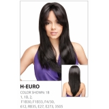 R&B Collection 21 Tress 100% HUMAN PREMIUM BLENDED Magic Lace Front Wig, H-EURO