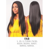R&B Collection, Synthetic hair U-Shape Lace wig, FAB