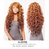 R&B Collection 21 Tress 100% HUMAN PREMIUM BLENDED Human hair wig H-ESTEE