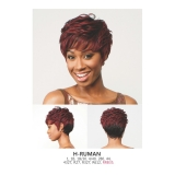 R&B Collection 21 Tress 100% HUMAN PREMIUM BLENDED Human hair wig H-RUMAN