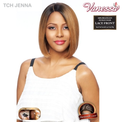 Vanessa 100 Brazilian Human Hair Swissilk Lace Front Wig