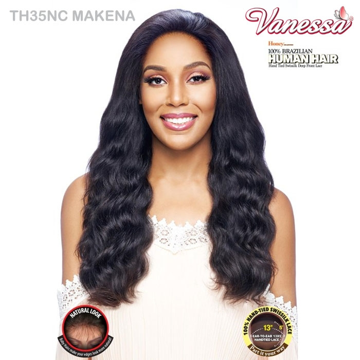 Vanessa Honey 100 Brazilian Unprocessed Human Hair