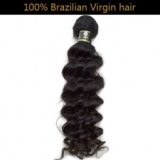 100% Virgin Brazilian Remy Hair Weft Deep Wave