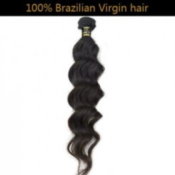 100% Virgin Brazilian Remy Hair Weft Loose Wave