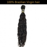 100% Virgin Brazilian Remy Hair Nature Wave